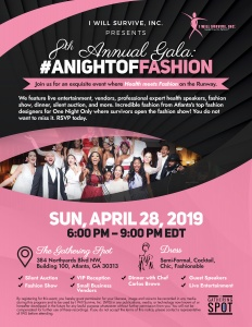 "8th Annual ""A Night of Fashion"" Gala"