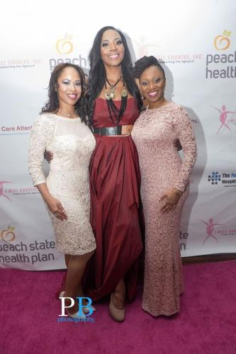 Anisa Palmer, Renee Knorr, and Dr. Green